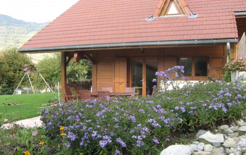 Location de vacances - Chalet à Theys - terrasse