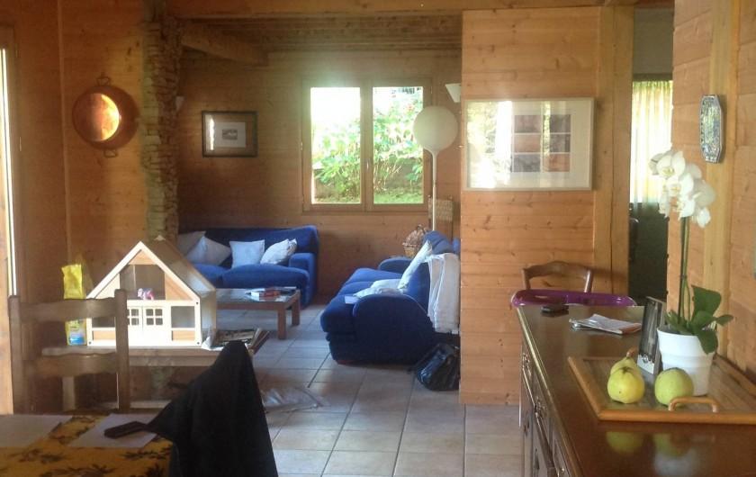 Location de vacances - Chalet à Theys - séjour