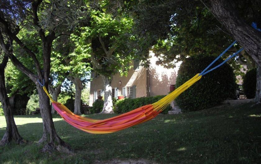 Location de vacances - Villa à Aix-en-Provence - sous les tilleuls centenaires
