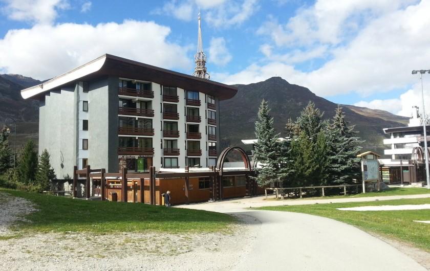 Location de vacances - Appartement à Les Menuires - Résidence Chanteneige Les Menuires