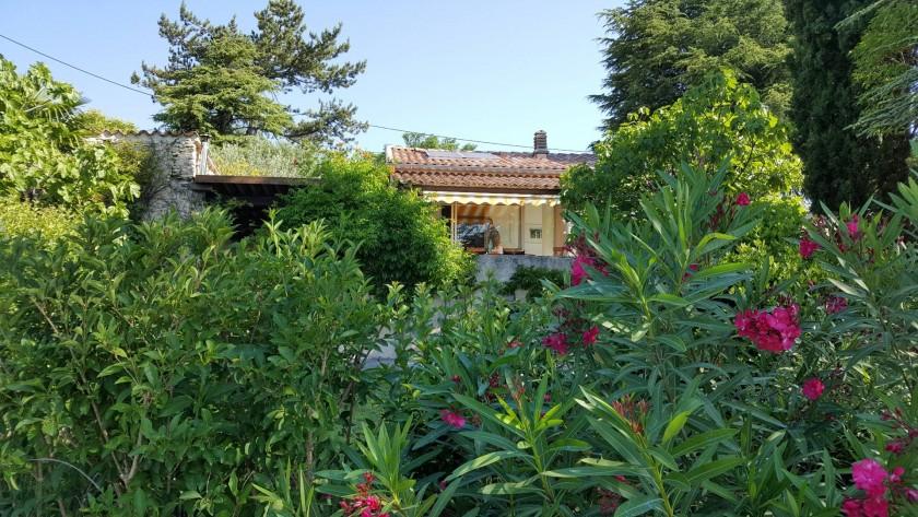 La villa vue du jardin
