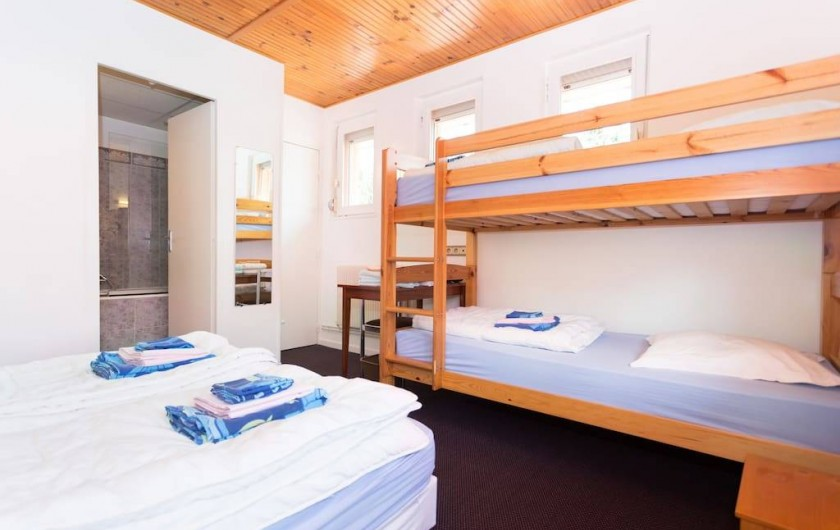 Location de vacances - Gîte à Bussang - chambre de 4
