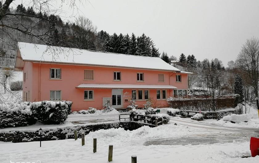 Location de vacances - Gîte à Bussang - gite hiver