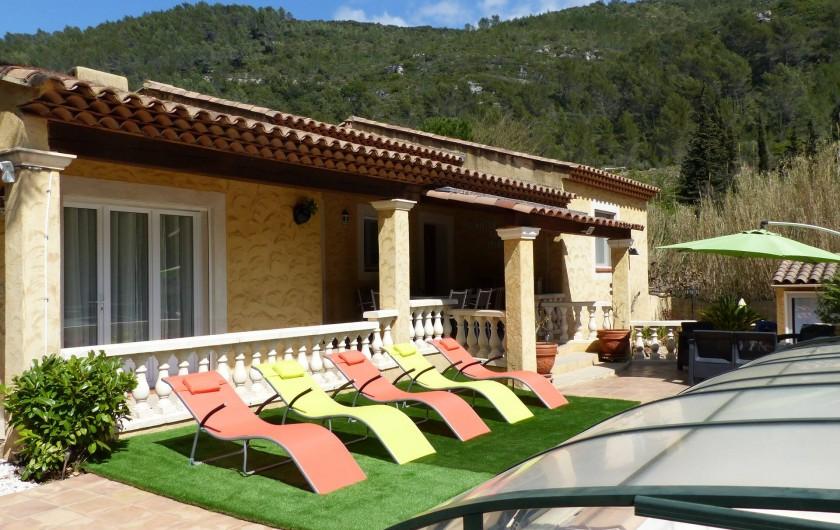 Location de vacances - Villa à Solliès-Toucas - LA PLAGE DES BAINS DE SOLEIL..