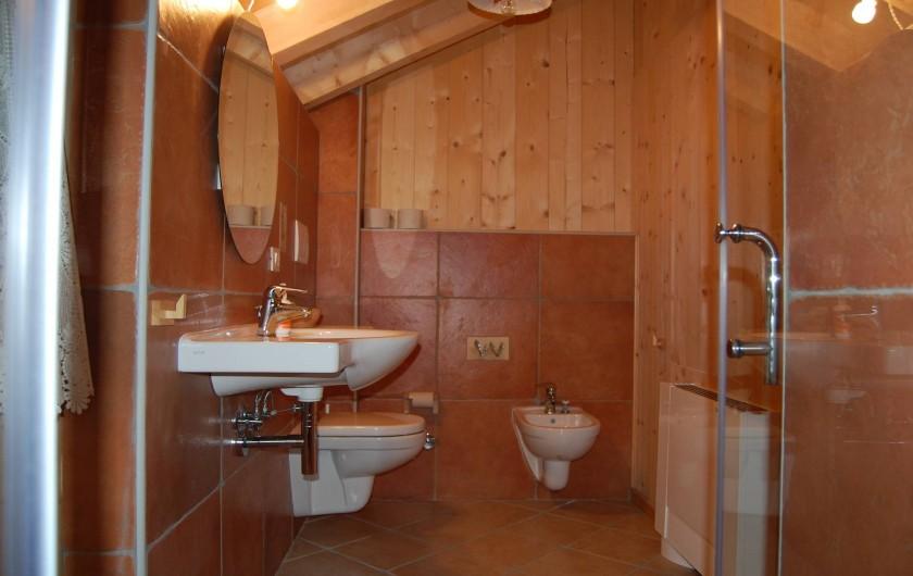 Location de vacances - Chambre d'hôtes à Cesiomaggiore - bagno