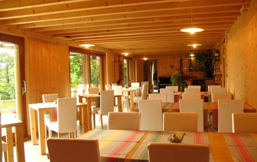Location de vacances - Chambre d'hôtes à Cesiomaggiore - sala ristorante e colazioni