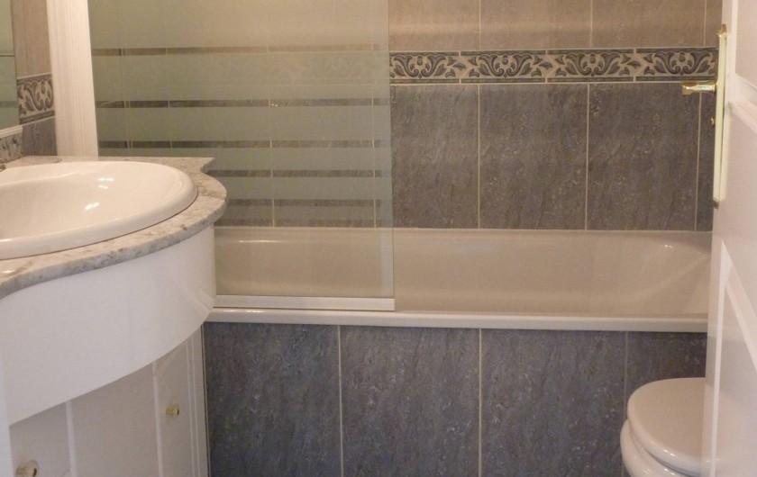 Location de vacances - Appartement à Calahonda - SALLE de BAIN attenante + WC