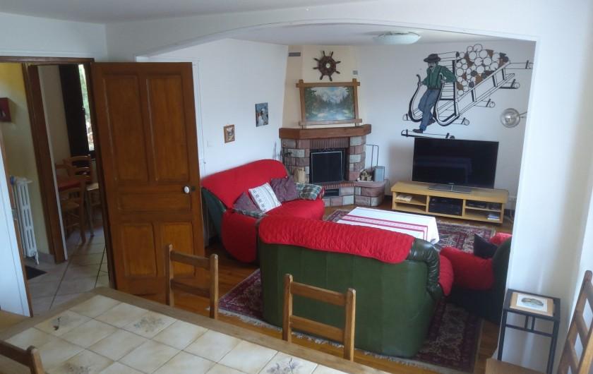 Location de vacances - Gîte à Bussang - Grand Appartement - Salon