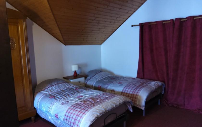 Location de vacances - Gîte à Bussang - Grand Appartement - Grande chambre