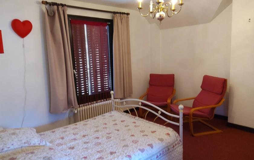 Location de vacances - Gîte à Bussang - Grand Appartement - Chambre Avant