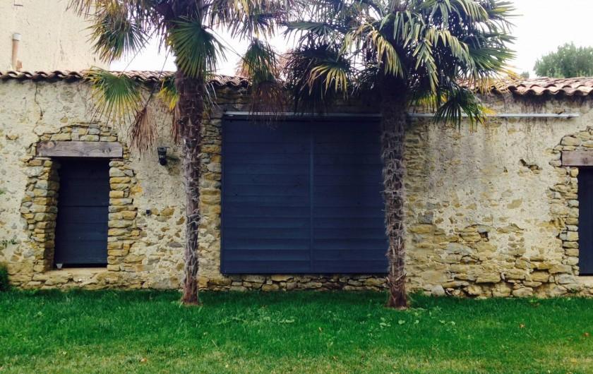 Location de vacances - Mas à Carcassonne - Jardin.
