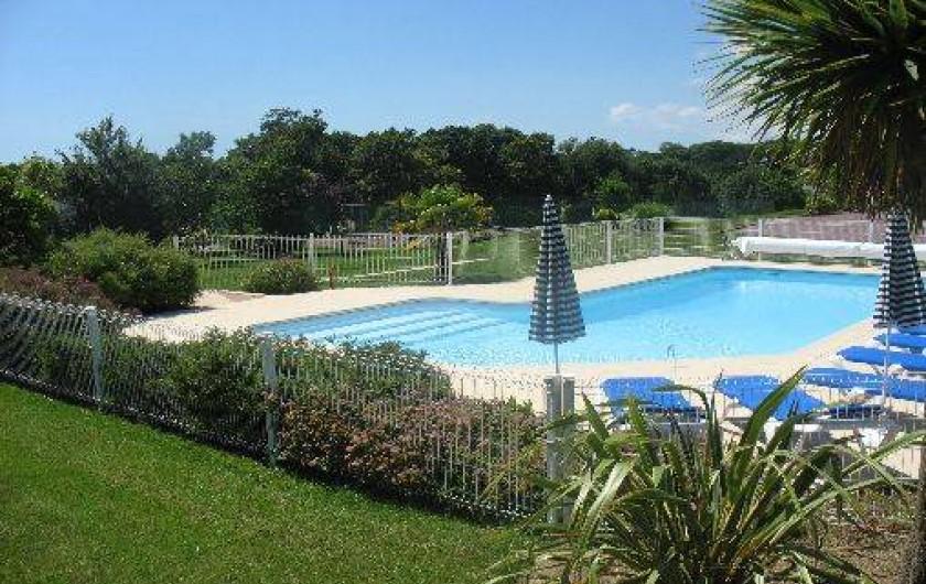 Location de vacances - Gîte à Clohars-Carnoët - Piscine et parc