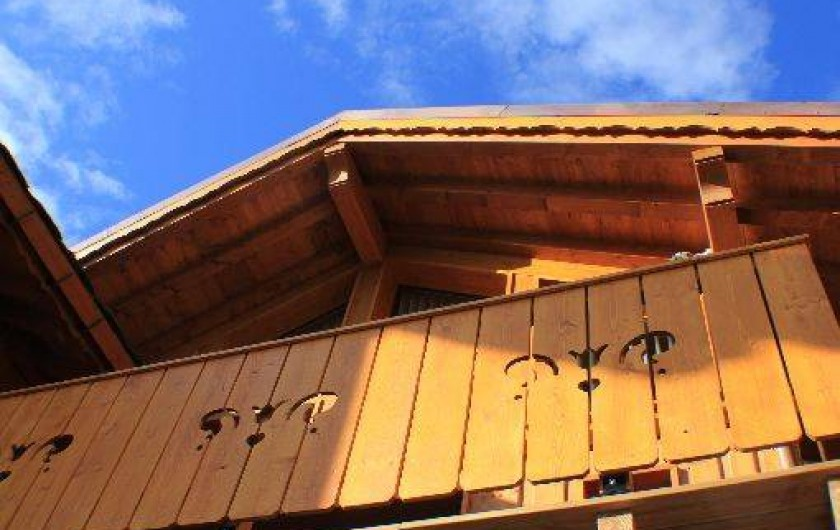 Location de vacances - Chalet à Valmorel - BALCON