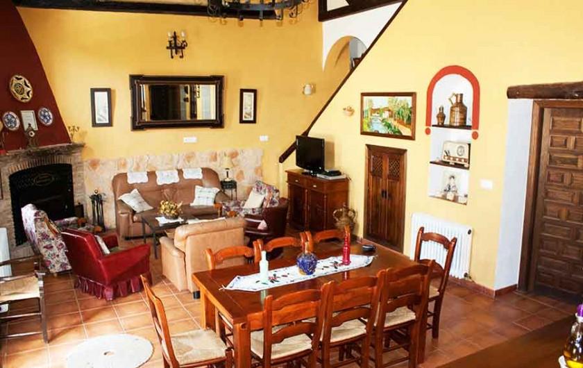 Location de vacances - Villa à Carcabuey - SALON