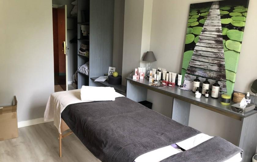 Location de vacances - Hôtel - Auberge à Saint-Thégonnec - Salon Bien-Etre
