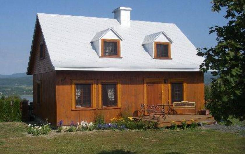 Location de vacances - Chalet à Saint-Pierre-de-l'Île-d'Orléans