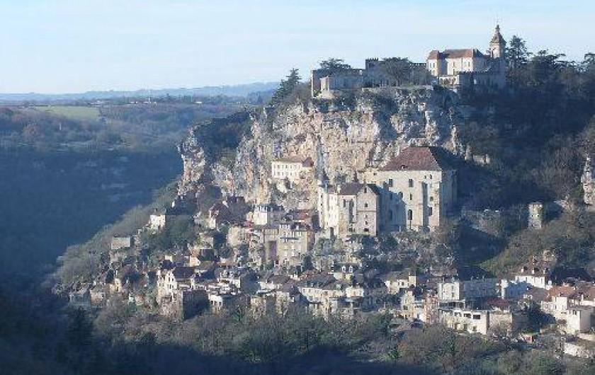 Location de vacances - Gîte à Saint-Maurice-en-Quercy - Rocamadour