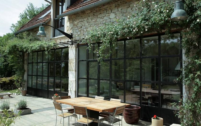 Location de vacances - Gîte à Miers - maison c7 endroit terrasse