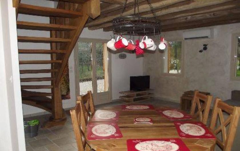 Location de vacances - Gîte à Crouy-sur-Cosson - Salle à manger