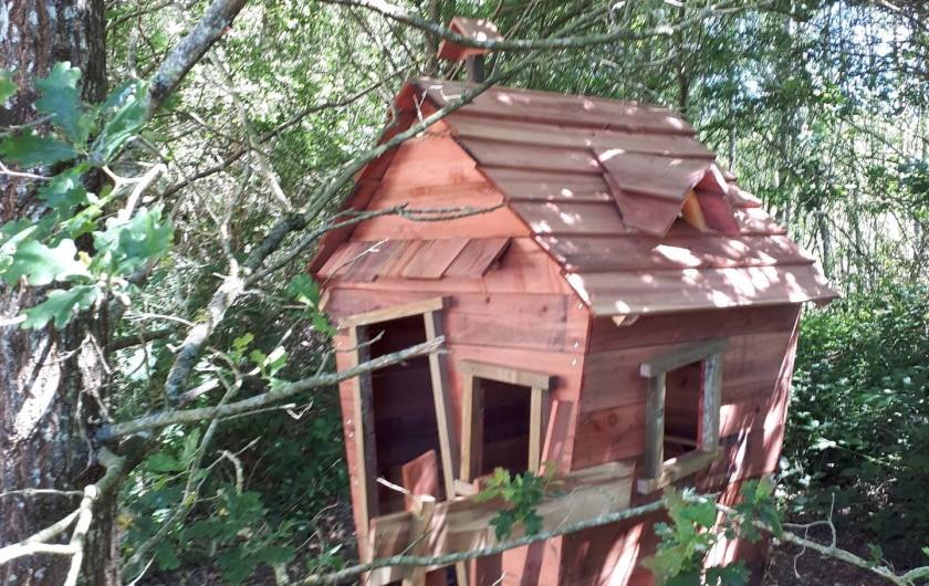 Location de vacances - Gîte à Crouy-sur-Cosson - Cabane rigolote pour les enfants