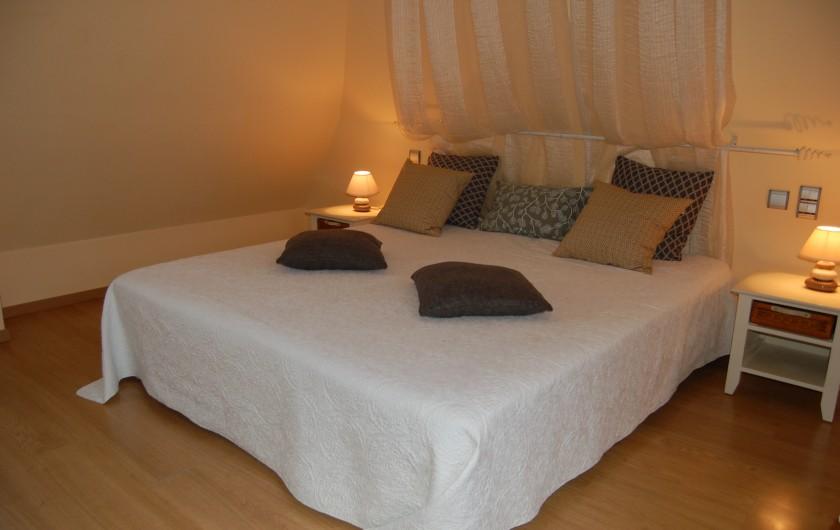 Location de vacances - Gîte à Saint-Médard-d'Excideuil - Chambre 4 gîte La Girouette