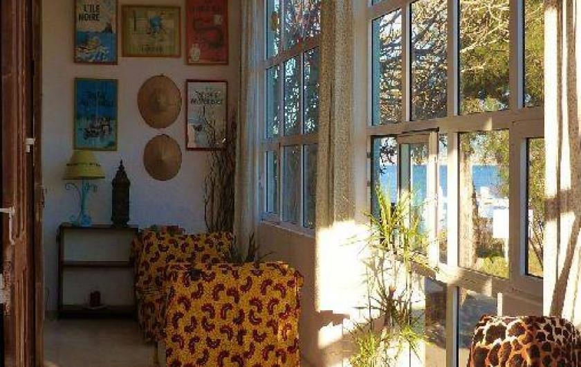 Location de vacances - Appartement à Six-Fours-les-Plages - La véranda