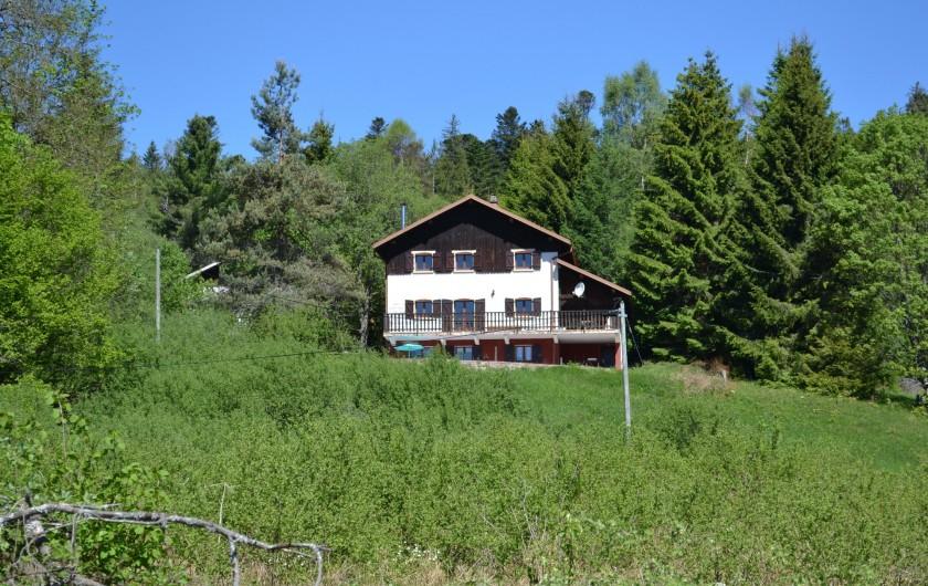 Location de vacances - Chalet à Gérardmer - le chalet vosgien été