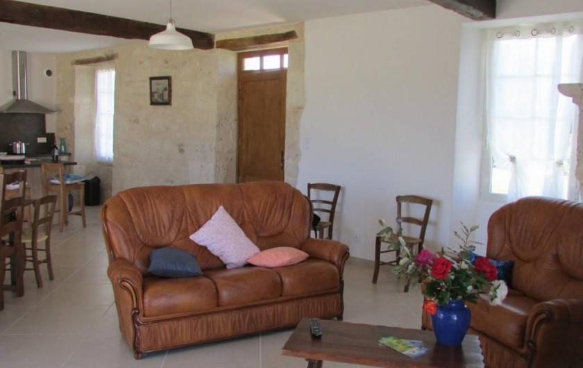 Location de vacances - Villa à Riocaud - Le salon