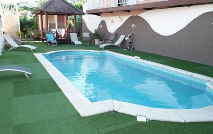 Location de vacances - Bungalow - Mobilhome à Saint-Leu - piscine