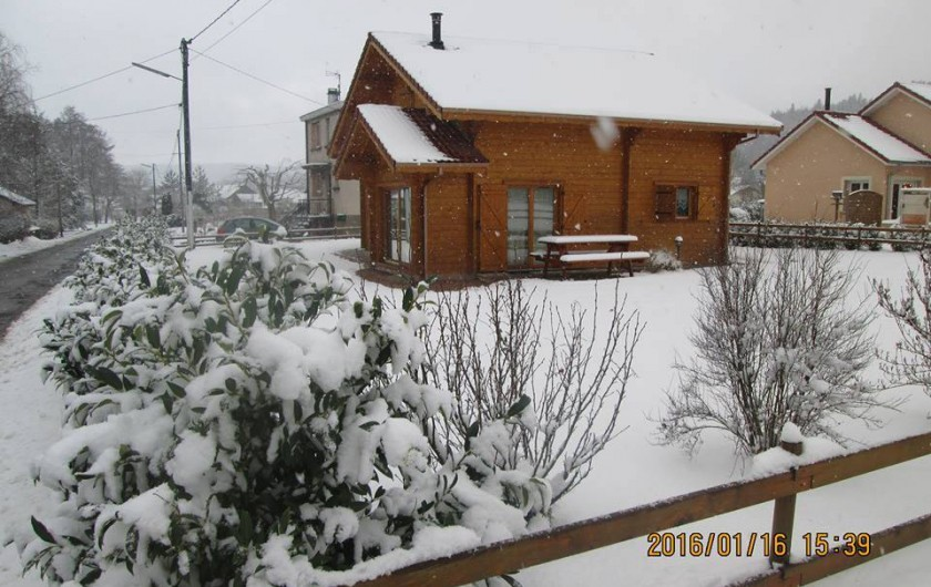 Location de vacances - Chalet à Fraize