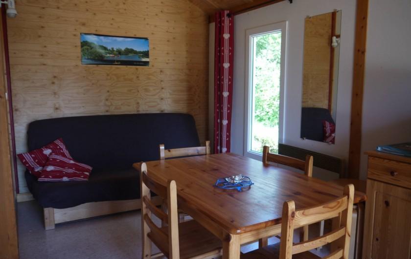 Location de vacances - Chalet à Foncine-le-Haut - Intérieur d'un HLL