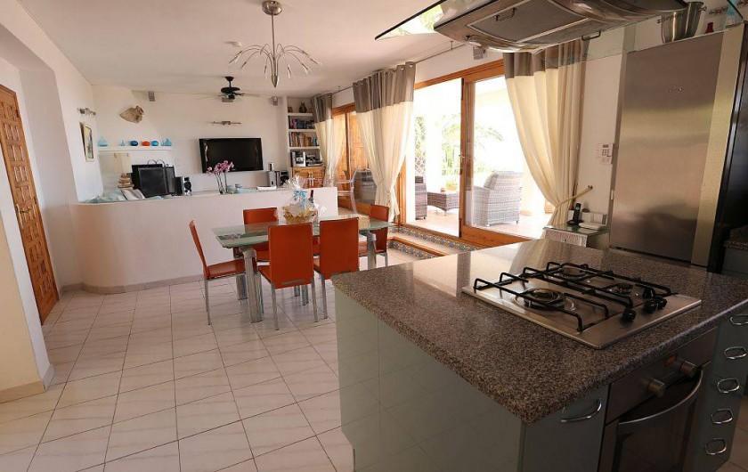 Location de vacances - Villa à Es Cubells