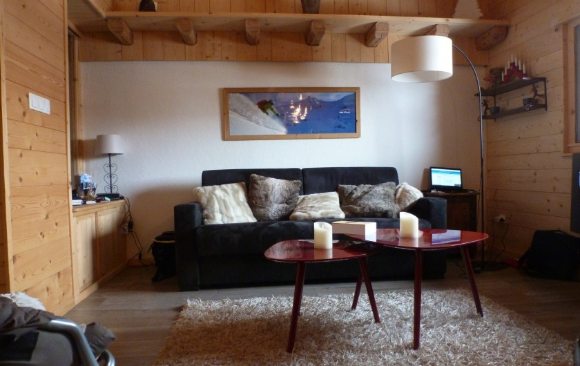 Location de vacances - Studio à L'Alpe d'Huez - Le salon