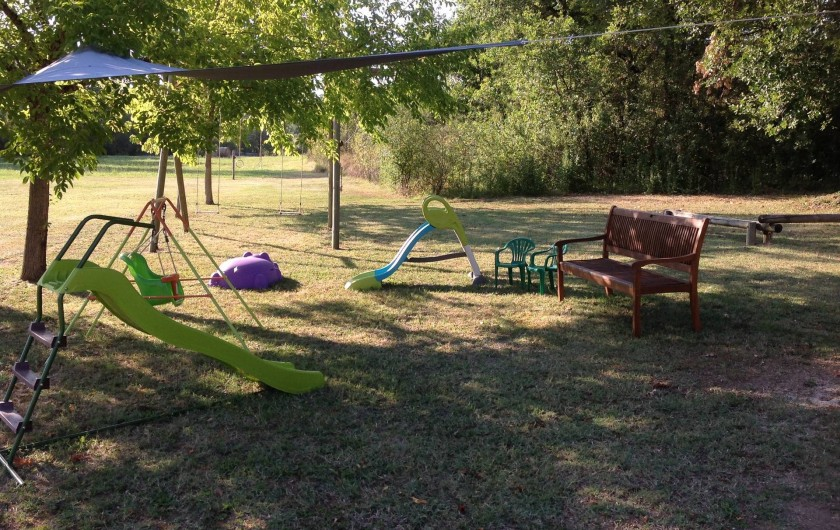 Location de vacances - Chalet à Vergt-de-Biron - Espace  jeux enfants
