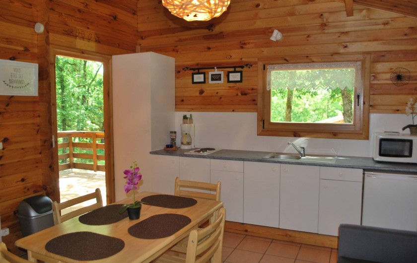Location de vacances - Chalet à Vergt-de-Biron - cuisine