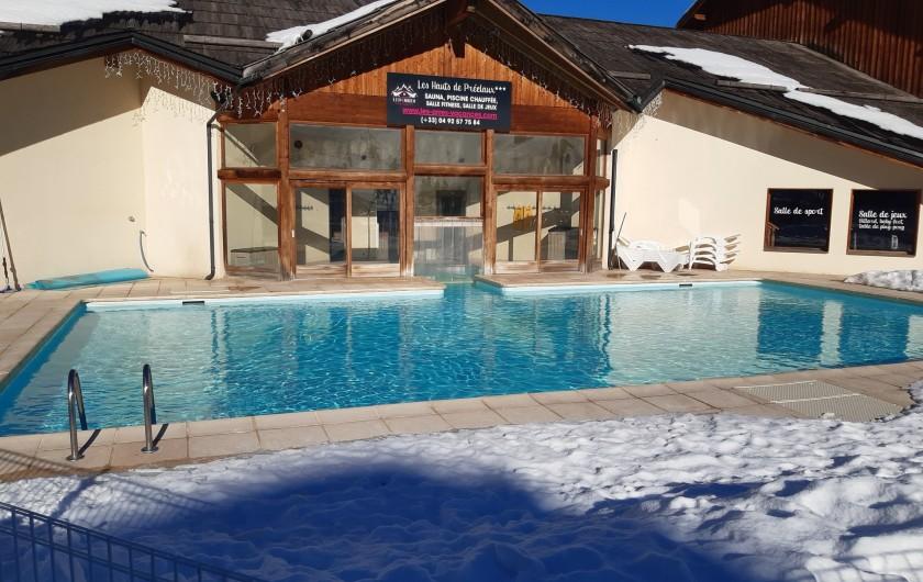 Location de vacances - Appartement à Les Orres - PISCINE sur rendez vous  ( COVID 19 )