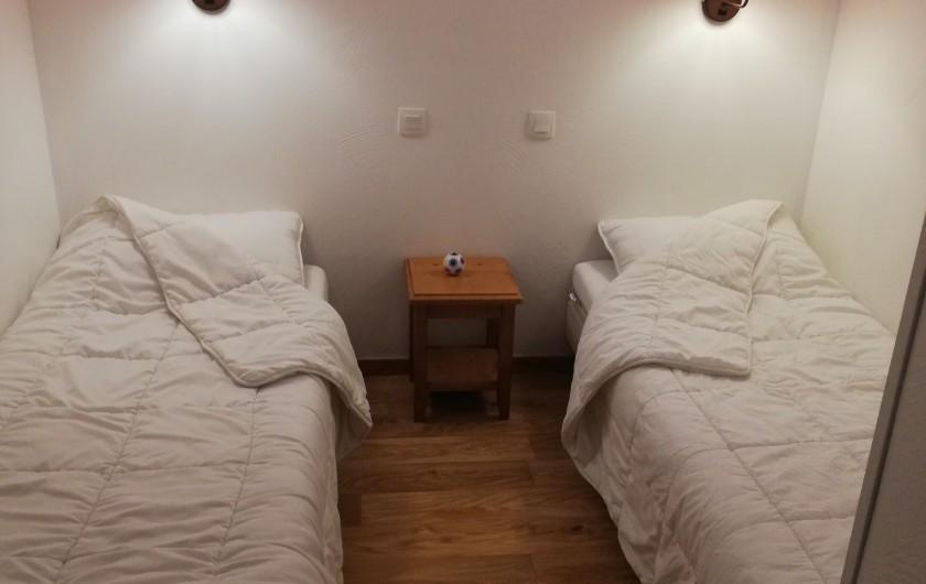 Location de vacances - Appartement à Les Orres - CHAMBRE 2