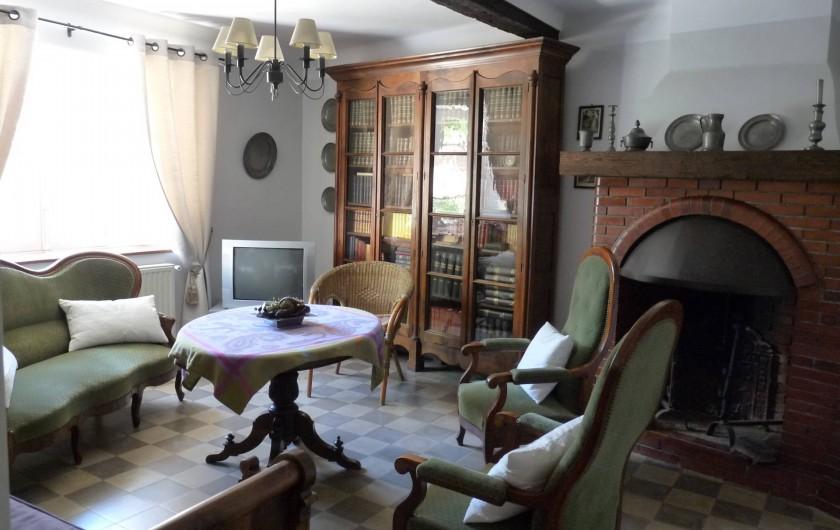 Location de vacances - Gîte à Cournanel - Salon Gîte Adèle