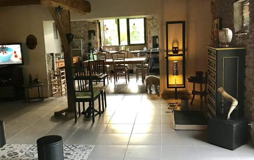 Location de vacances - Gîte à Vendine - Salon Nord