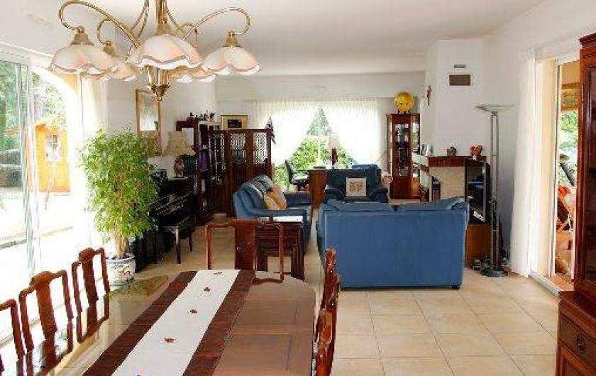 Location de vacances - Villa à Valbonne - Salle à manger / salon