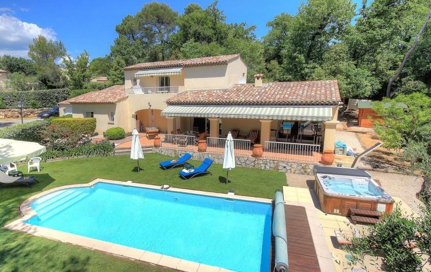 Location de vacances - Villa à Valbonne