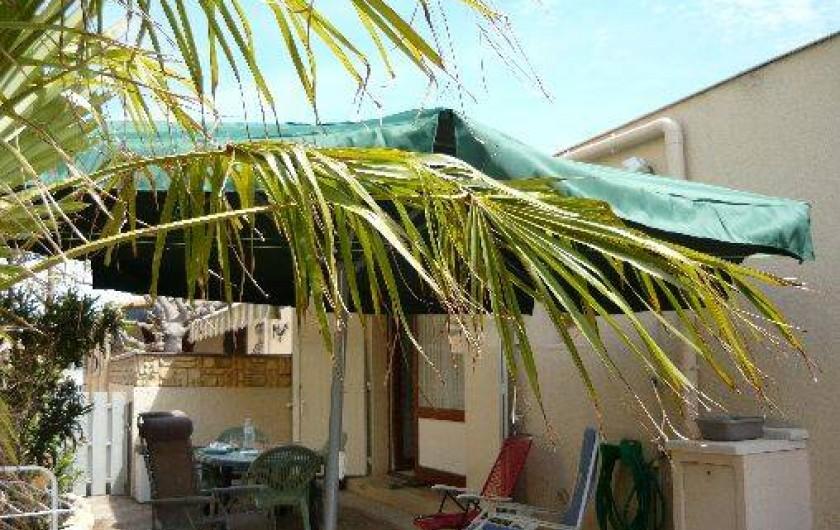 Location de vacances - Maison - Villa à Port-la-Nouvelle - coin détente