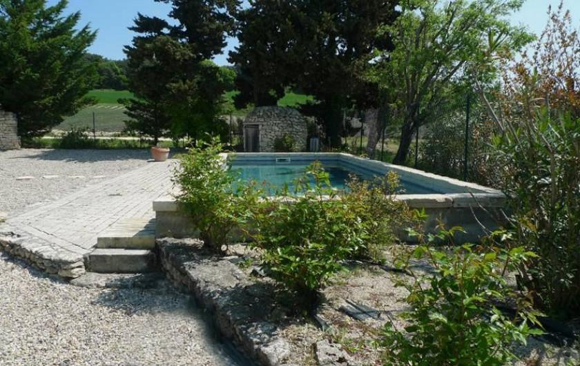 Location de vacances - Mas à Clansayes - piscine privative
