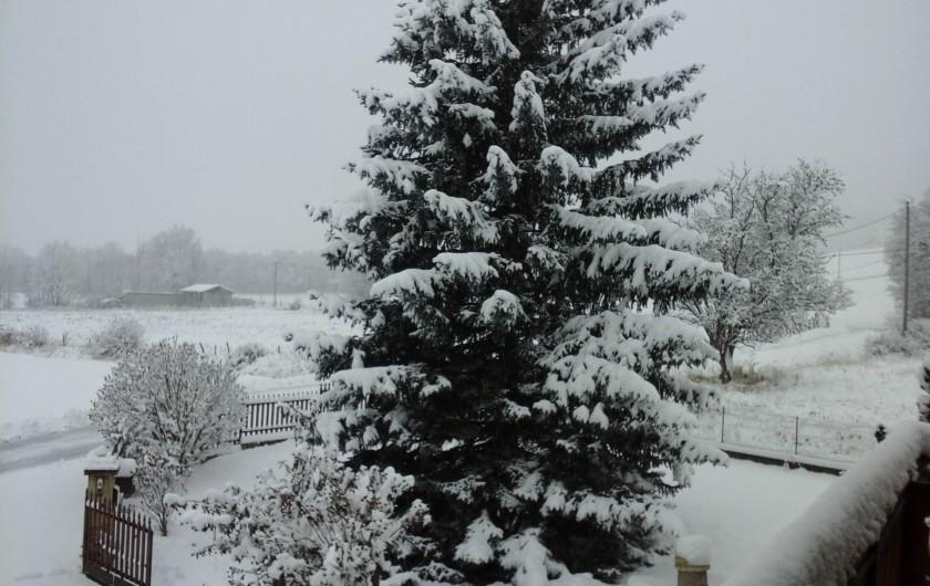 Location de vacances - Appartement à Avançon - hiver