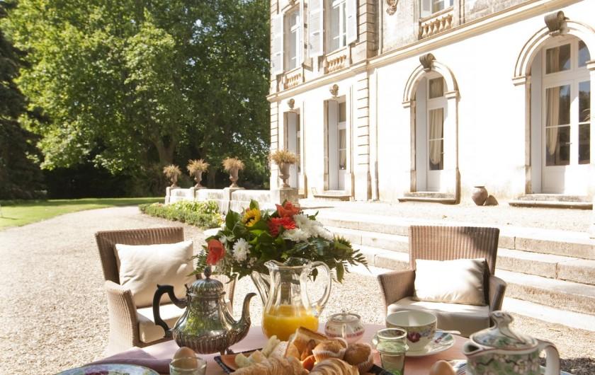 Location de vacances - Chambre d'hôtes à Béziers - Petit déjeuner