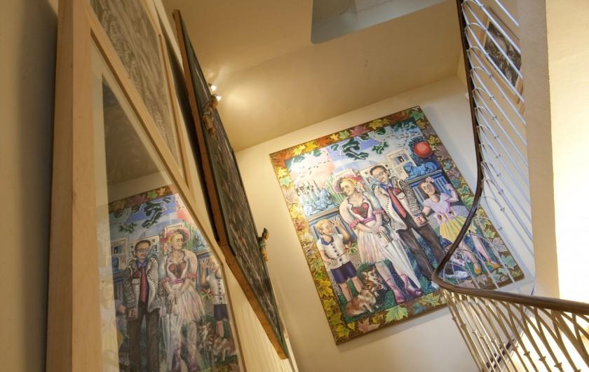 Location de vacances - Chambre d'hôtes à Béziers - Peintures Jean Viennet