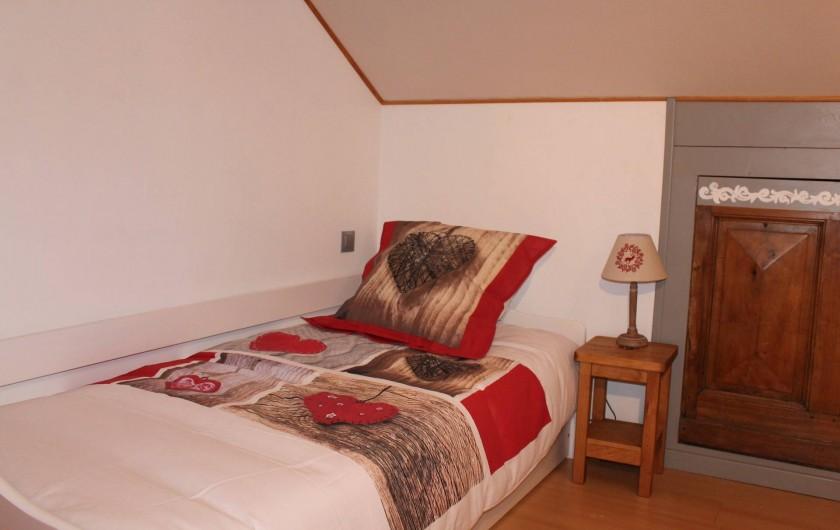Location de vacances - Appartement à Valloire - CHAMBRE 3 banquette gigogne2x90