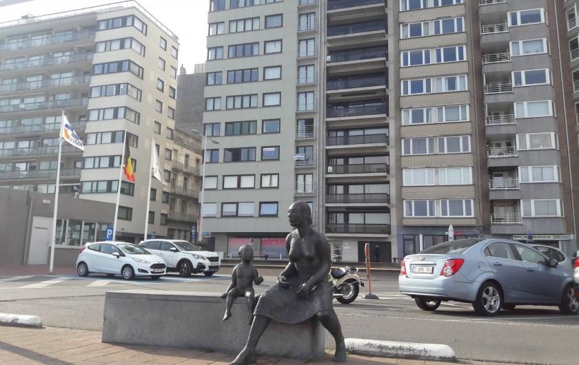 Location de vacances - Appartement à Blankenberge
