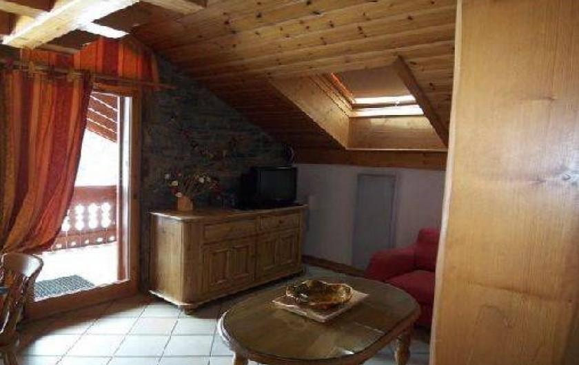 Location de vacances - Appartement à Méribel - SALON