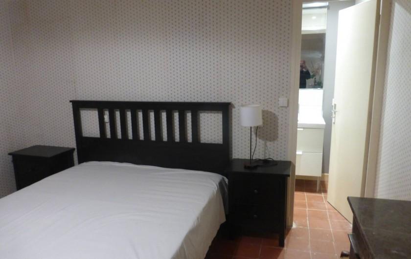 Location de vacances - Mas à Saint-Maurice-de-Cazevieille - Chambre 3 / Lit 160x200